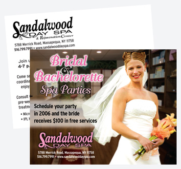 Sandalwood Day Spa: 4X6 Postcard